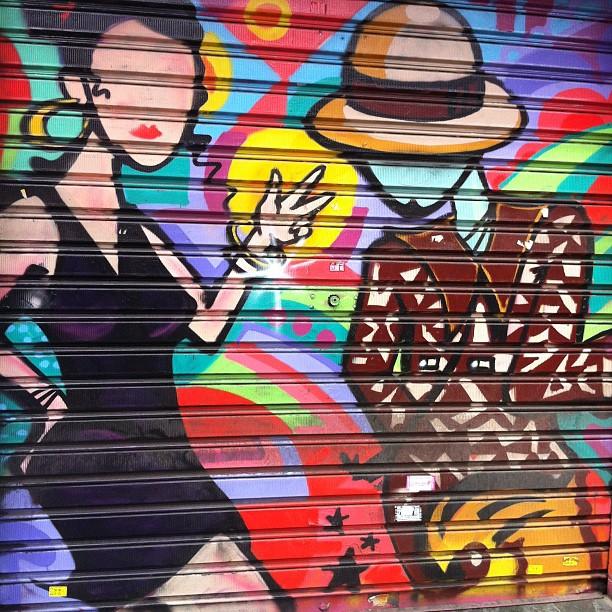 #red #graffiti #saopaulo #brasil #brazil #vilamadalena