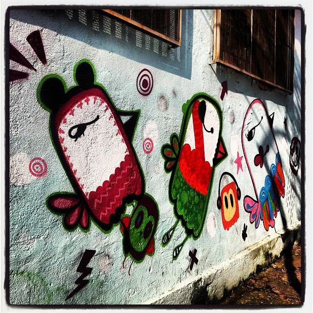 Street art @ Bom Retiro