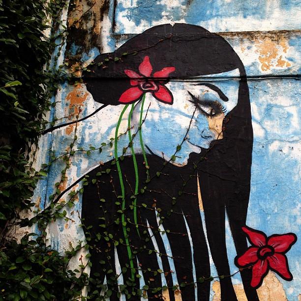 Sã Paulo / muros 1964 - Detalhe