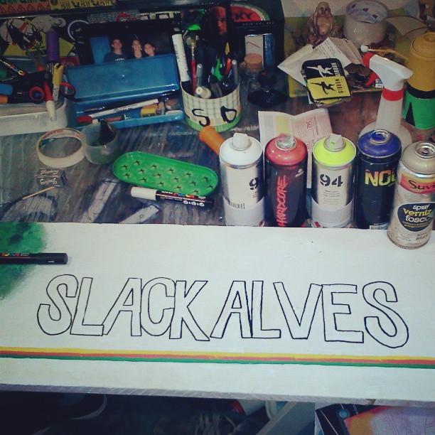 #streetartslackline #streetartsp #spray #slackalves #streetslackline ARTE DE VERDADE