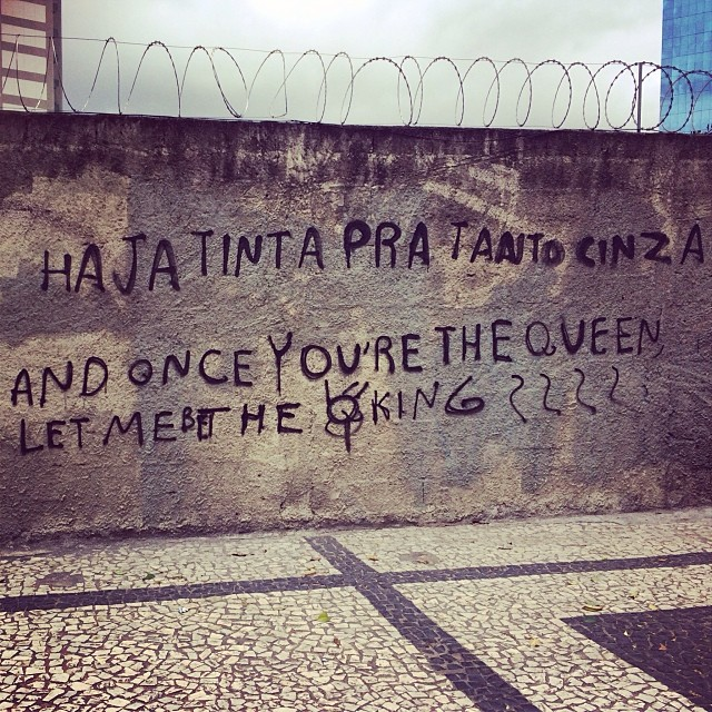 And we'll never be royals #streetartsp #streetartbrasil #sp #saopaulo