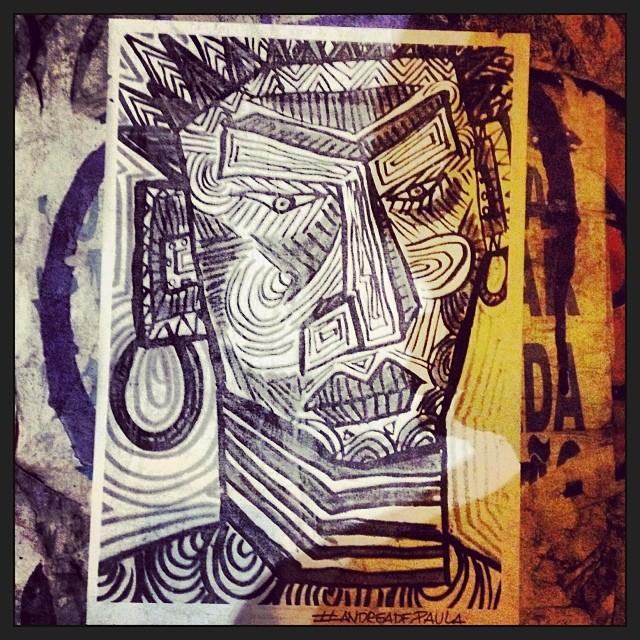Face the future #art #streetart #adreadepaula #face #streetartsp #urban #urbania #lovesp #sampa #sãopaulo #urbantópia #poster #streets #citydetails #cityart #extraordinare #paulicéia #ohlife #friends #nightout #fun #cosmo #urbanpaople #cosmopolita #cotidiano #young #yolo