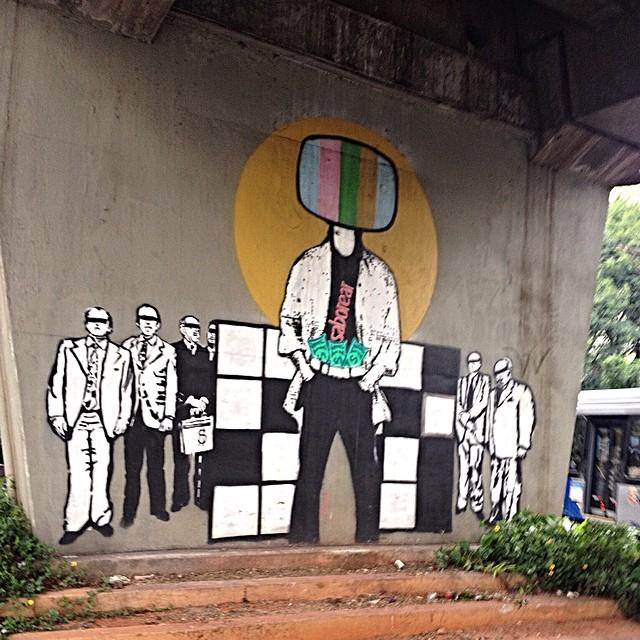 Celso Githay MAAU - Museu Aberto de Arte Urbana - Santana - São Paulo #maau #streetartsp #streetartsaopaulo #streetarbrazil #sampagraffiti #graffitimagazine #dopeshotbro #DSB_Graff #streetartandgraffiti #urbanart #graffiti #grafite #coolsampa #coolbr #stencil #stencilbrazil #stencillovers
