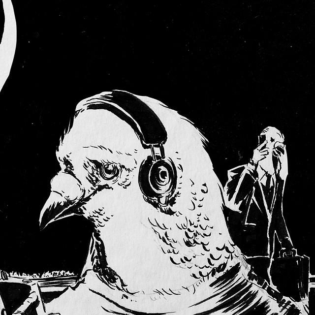 A fabula da coruja e a pomba já ta em pré-venda. Qualquer semelhança com o que aconteceu na cidade é mera coincidencia... #vamoprarua #streetart #streetartsp #011