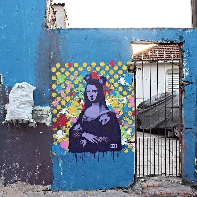 Mona Mickey - Arte Ordinária #ozistencil #stencilbrasil #stencillovers #estencil #stencilbrazil #arteordinaria #streetartsp #streetartsaopaulo #streetarbrazil #sampagraffiti #graffitimagazine #dopeshotbro #DSB_Graff #streetartandgraffiti #urbanart #graffiti #grafite #coolsampa #rsa_graffiti #urbanart #azstreetart #azgraffiti