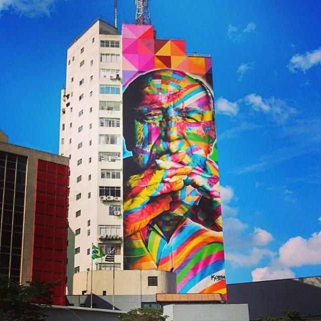 ' Viva a arte pelas ruas de São Paulo ' #art #artesdarua #grafite #graffiti #avpaulista #realcoolsampa #pelasruasdesampa