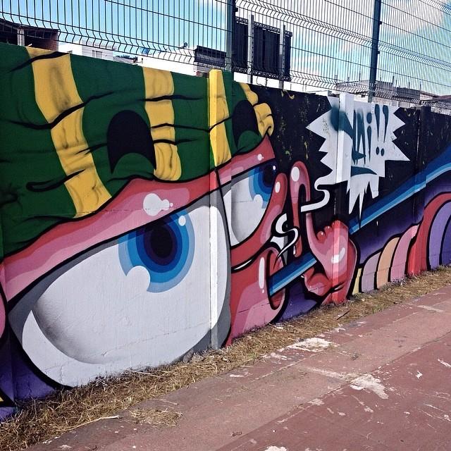 4KM Artur Alvim - São Paulo #4km #4kprojeto #streetartsp #streetartsaopaulo #streetarbrazil #sampagraffiti #graffitimagazine #dopeshotbro #DSB_Graff #streetartandgraffiti #urbanart #graffiti #grafite #coolsampa #rsa_graffiti #azstreetart #azgraffiti #streetartshots #streetartuncovered #instagrafite #beoriginal #graffitidesign #instagraff #i_support_street_art #wall #isuportstreetart #streetart #graff #sprayart #tv_streetart