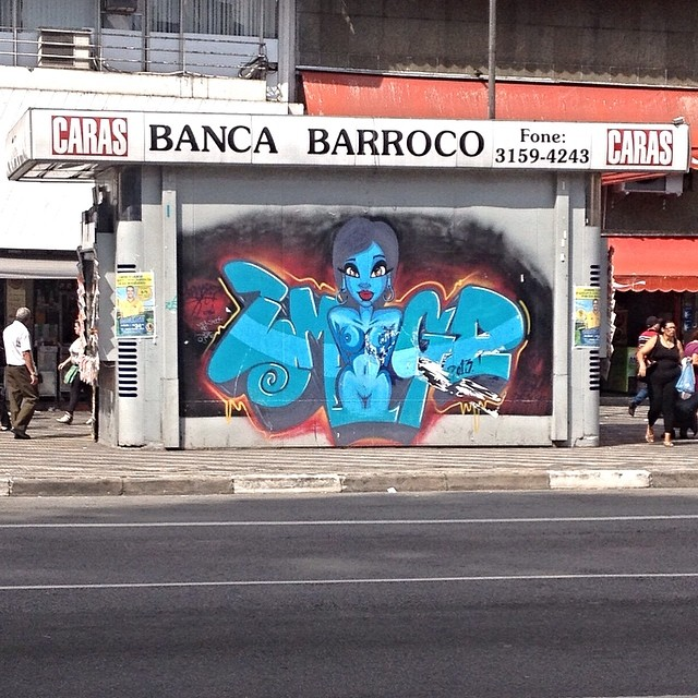 Repúplica - São Paulo #streetartsp #streetartsaopaulo #streetarbrazil #sampagraffiti #graffitimagazine #dopeshotbro #DSB_Graff #streetartandgraffiti #urbanart #graffiti #grafite #coolsampa #rsa_graffiti #azstreetart #azgraffiti #streetartshots #streetartuncovered #instagrafite #beoriginal #graffitidesign #instagraff #i_support_street_art #wall #isuportstreetart #streetart #graff #sprayart #tv_streetart