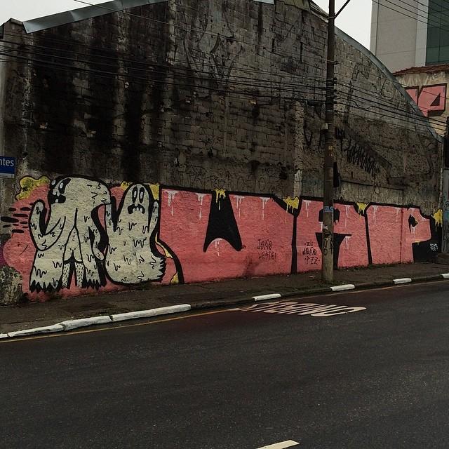 #streetartsp #streetart #streetarbrazil #streetartandgraffiti #artederua #artenarua #arteurbana #graffiti #grafite #graffitimagazine