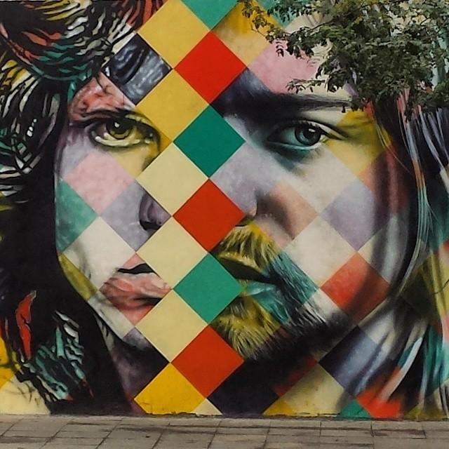 @kobrastreetart #StreetArt #StreetArtSP #Kobra #SaoPaulo #SerPaulistano #IS2SP #JimMorrison #KurtCobain