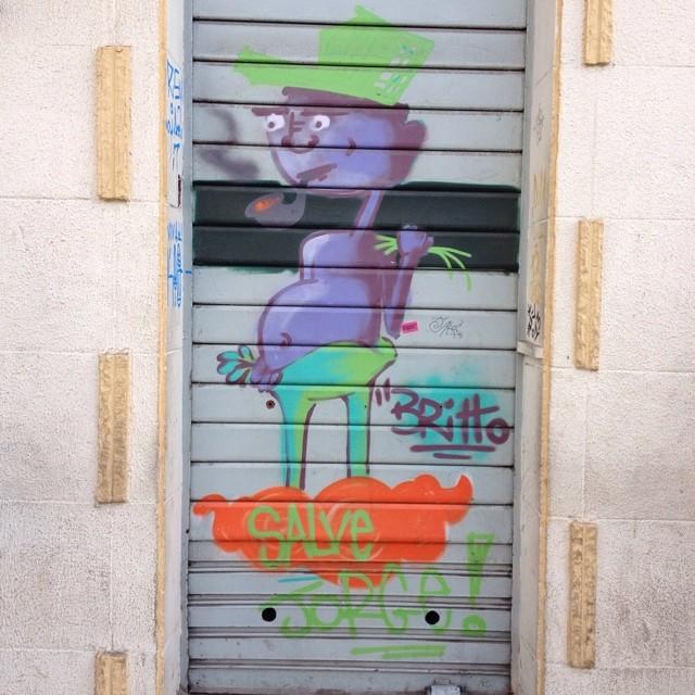 Britto Centro - São Paulo #britto #streetartsp #streetartsaopaulo #streetarbrazil #sampagraffiti #graffitimagazine #dopeshotbro #DSB_Graff #streetartandgraffiti #urbanart #graffiti #grafite #coolsampa #rsa_graffiti #streetart #graffiti #grafite #streetartshots #streetartuncovered #graffitidesign #instagraff #i_support_street_art #isuportstreetart #streetart #sprayart #tv_streetart #saopaulosao