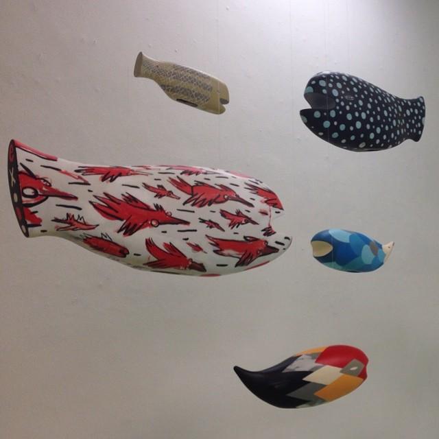 Tec - Swimming Pool at Choque Cultural #tec #swimmingpool #choque #choquecultural #vilamadalena #saopaulo #artgallery #art #fish #peixe #mobile #sculpture #streetartsp #streetart #arteurbano #artederua #ruanews #jacktwo