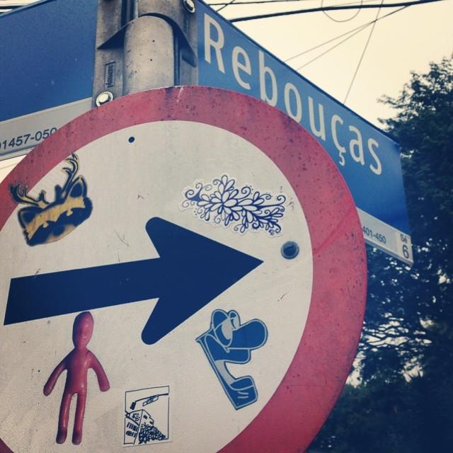 bom dia, SP. ️ #occupySP #stickerart #fesanovicz #streetartsp #IchuvaSP #IheartSP