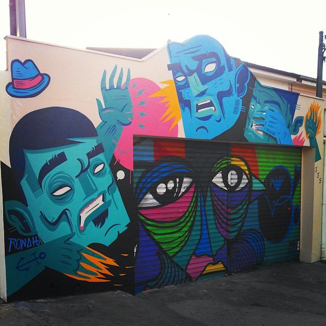 By @ronahcarraro & @marceloxue #vilamadalena #streetartsp #streetartandgraffiti #streetartsampa #streetarteverywhere #streetart #streetartsaopaulo #streetartbrazil #sampastreets #sampagraffiti #urbanart #graffitisaopaulo #graffitimecca #graffiti #grafitesp #grafite #grafiti