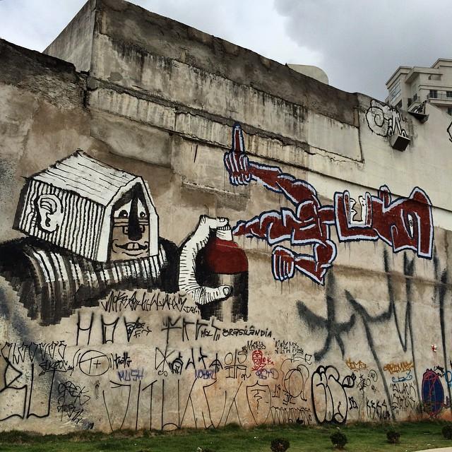 arte de #Fel @rmigraff #rmigraff #graffitisaopaulo #graff #grafite #instagraffiti #streetart #streetartsp #artesp #artederua #arteurbana #artenarua #omelhortrampodomundo