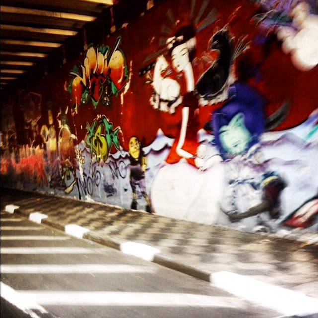 the red geisha #tunnelvisions #streetartsp #urbanarts #streetarteverywhere #saopaulocity