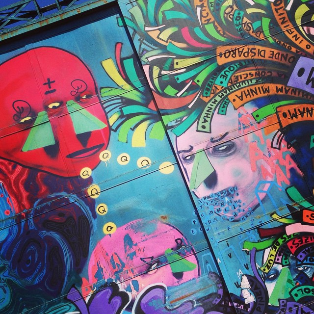 Painted doors by @lobotex #lobot #Sambadograffitti #sampa #grafite #graffiti #graffiti_clicks #graf #streetart #streetartsp #streetphoto #streetarteverywhere #streetartphotography #spray #spraypaint #urbanwall #urbanart #urbano #arte #rua #brazil #brasil #saopaulo