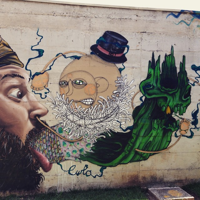 Creativity in Santana, SP #sambadograffiti #sampagraffiti #graffiti #graffiti_clicks #grafite #graf #streetart #streetartsp #streetphoto #streetarteverywhere #streetartphotography #spray #SPBGRAFITE #spraypaint #urbanwall #urbanart #wallart #saopaulo #brasil #rsa_graffiti #DSB_graff #braznu #sampa #tv_streetart #saopaulocity #tv_sa_simplicity_graff #streetartofficial