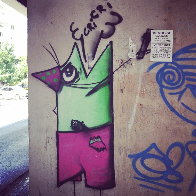 Kind of native bird from the São Paulo jungle by Cri Cri #cricri #oiseau #bird #passarinho #Sambadograffitti #sampa #sampagraffiti #grafite #graffiti #graffiti_clicks #streetart #streetartsp #streetphoto #streetarteverywhere #streetartphotography #spray #SPBGRAFITE #spraypaint #wallart #urbanart #urbanwall #arte #saopaulo #brasil #brazil