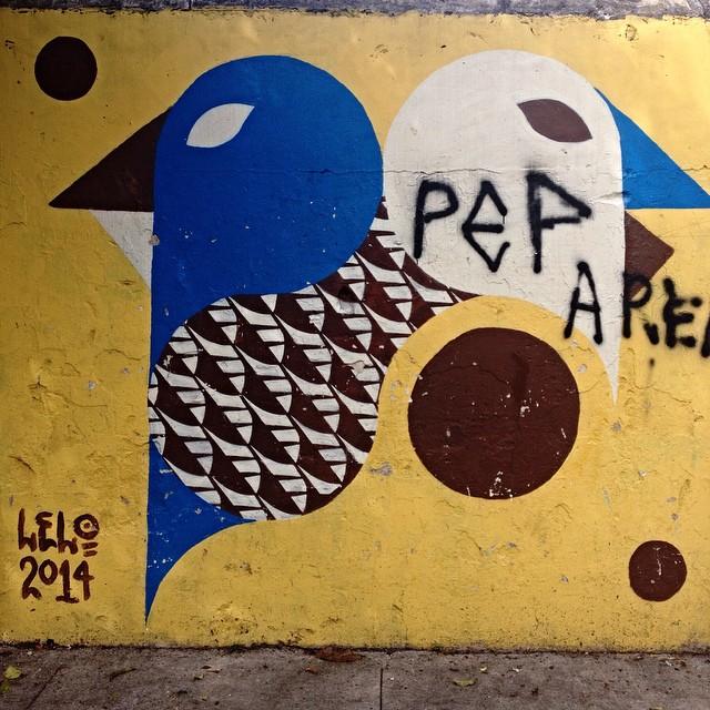 Lelo Pinheiros - São Paulo #lelo #streetartsp #streetartsaopaulo #streetarbrazil #sampagraffiti #dopeshotbro #DSB_Graff #streetartandgraffiti #urbanart #graffiti #ArtDeLaRue #coolsampa #rsa_graffiti #streetart #grafite #streetartshots #streetartuncovered #instagraff #i_support_street_art #isuportstreetart #streetartofficial #sprayart #tv_streetart #saopaulosao #igerssaopaulo #elgraffiti