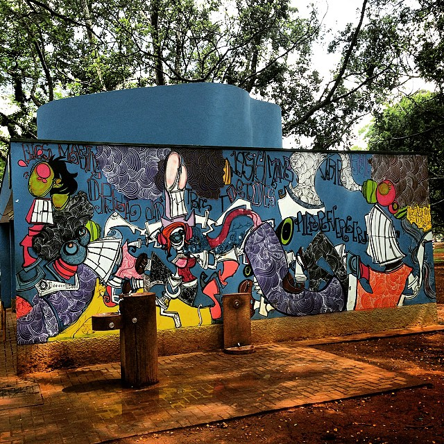 #streetart #urbanart #graffiti #streetartsp #urbanartsp #saopaulo #sp #ibira #parquedoibirapuera