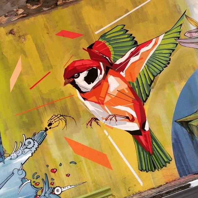 Fantastic mural in 23 de Maio avenue (São Paulo) by @arlin_graff #arlin #23demaio #sambadograffiti #sampagraffiti #graffiti #graffiti_clicks #grafite #graf #streetart #streetartsp #streetphoto #streetarteverywhere #streetartphotography #spray #urbanwall #urbanart #wallart #saopaulo #brasil #rsa_graffiti #DSB_graff #braznu #bird #tv_streetart #saopaulocity #tv_sa_simplicity_graff #streetartofficial