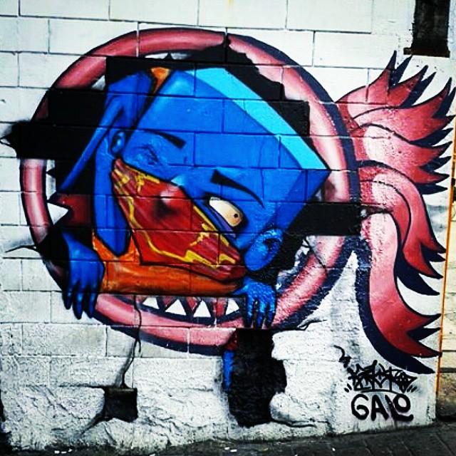 #SP #SPBrazil #SPlovers #pelasruasqueandei #streetart #graffiti #graffitiart #artisticintervention #urbanart #urban #walkinginthestreet #streetlife #art #artederua #arteurbana #murosurbanos #urbanwalls #StreetArtSp #olheosmuros