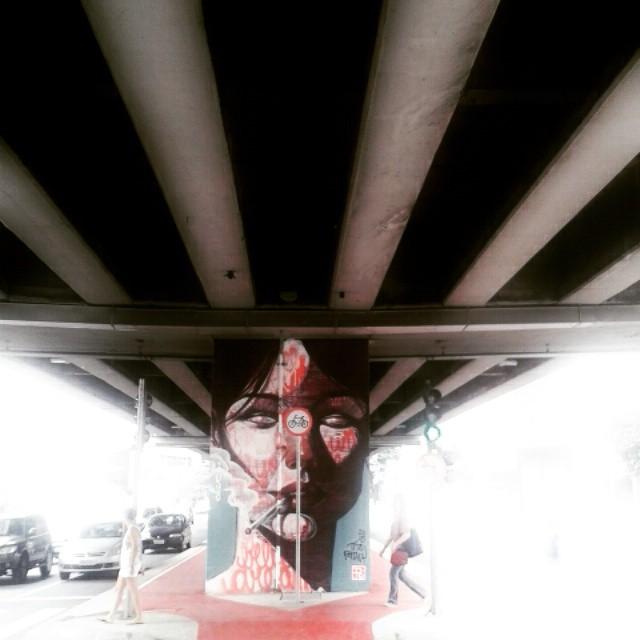 A beleza esta ao redor, basta saber enxerga-la. Work by @titoferrara #minhocao #sp #grafitti #grafite #grafitesp #urban #urbanart #instagraffiti #graffitiart #streetart #streetartsp #saopaulo #saopaulocity