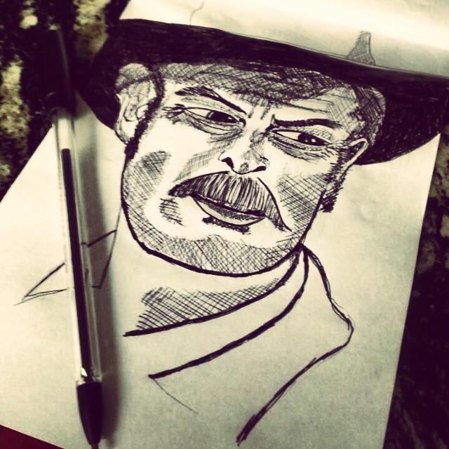 El Cabron só na caneta Art by @johnny79sp #elcabron #rabisco #caneta #artesp #street #artederua #artepropria #artederua #streetart_saopaulo #streetartsp #streetsp #streetart #madeinbrasil
