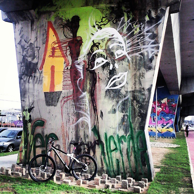 M.A.A.U Art by @reveracidade #maau #reveracidade #urbanbikesp #aro29 #diamondbackbike #artesp #artederua #artepropria #arteurbana #bike #biketoursp #bikeart #saopaulograffitti #saopaulocity #sprayart #spraysp #graffittisp #graffiti #colors #street #streetart_saopaulo #streetartsp #streetsp #streetart