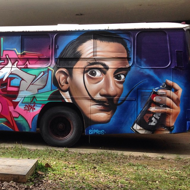 Magical mistery tour do Dali na 3ª bienal do graffiti no Ibirapuera (@jamilediniz)