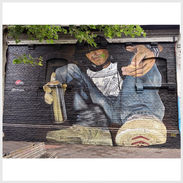 Street Art_Santiago-Chile Data: 20141128 Câmera: #SONY DSC RX100M2 Foto: J Gonçalves #loves_hdr
