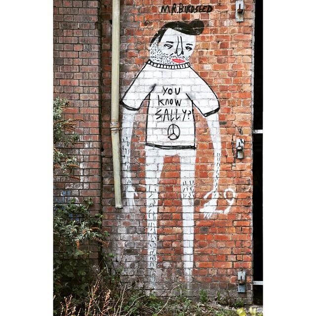 You know Sally ? #art #arte #arty #artwork #artderue #arturban #artederua #arturbain #arteurbano #mcruk #manchester #manchesterstreetphotography #street #streetart #streetartsp #streetphoto #streetartfiles #streetartistry #streetphotography #streetarteverywhere #urban #urbanart #urbanwalls #urbanstreet #urbanstreetphotography