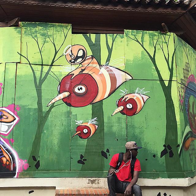 #FEIK arrasando no coreto da praça da República #arteurbana #coolsampa #graffiti #graffitisaopaulo #graffitisp #instagraffiti #instasaopaulo #sampa #saopaulo #saopaulograffiti #sp #splovers #streetart #streetartsp #streetartsaopaulo #praçadarepublica