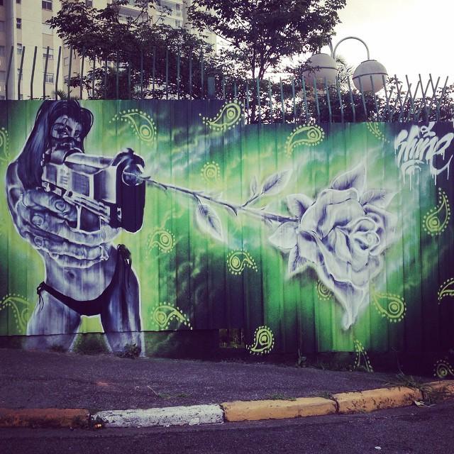 Nice wall art in Osasco by @rafashine #SHINECUSTOM #love #sambadograffiti #sampagraffiti #graffiti #graffiti_clicks #grafite #graf #streetart #streetartsp #streetphoto #streetarteverywhere #streetartphotography #spray #spraypaint #urbanwall #urbanart #wallart #saopaulo #brasil #rsa_graffiti #DSB_graff #braznu #sampa #tv_streetart #saopaulocity #tv_sa_simplicity_graff #streetartofficial #bikini