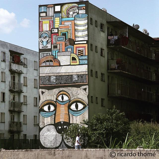 São Paulo #ArteParaTodos #graffitisaopaulo #arteurbana #saopaulograffiti #streetart #streetartsp #coolsampa #sampa #brasil #rmi_graff