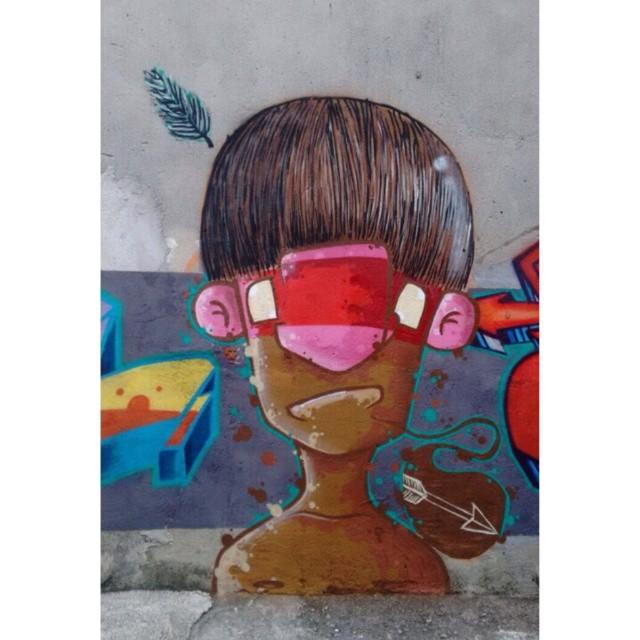 Índio + @truenose + @bonus.graf São Paulo - ZN - 2015 #graffiti #graff #graffart #instagrafite #sampagraffiti #indio #indigena #arte #art #streetartsp #streeart #urbanart #arteurbana #colors #color #cores #cor #maiscorporfavor #sp #sampacity #sampa #brazilianartist #urbanartist #artist #graffitiartist #apa #apaone #chegadecinza #spcolors