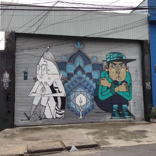 #instaggram #instadaily #instagrafite #streetart #streetarteverywhere #streetartsp