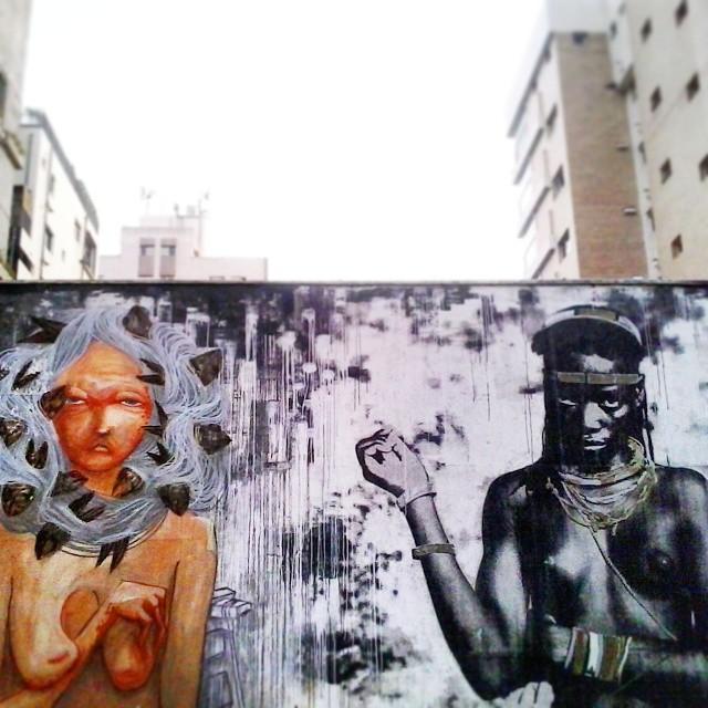 Medusas pretas, brancas, coloridas! Rainhas do seu próprio ser Angústiadas, apaixonadas, com sede de viver!  Arte: @magmagrela  @artesemfronteiras  @oqueasruasfalam  @galeriaaceuaberto  @instagrafite @olhesp  #viladadalena #sampaquesinto #grafitesp #streetartsp #streetart #urbanpoetry #urbanart #artederuasp #artederua #arteurbana