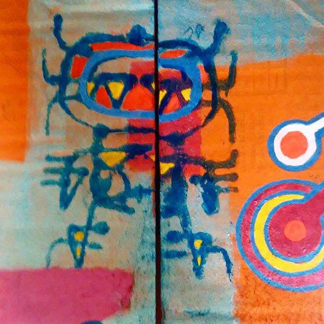 #astronaut #artebrasil #Arte #Art #nazca #ufo #extraterrestial #tribalfuturism #tribal #streetartsp #streetart #sampa #artebrasil #artederua #artederuasaopaulo #urbanart #arteurbana