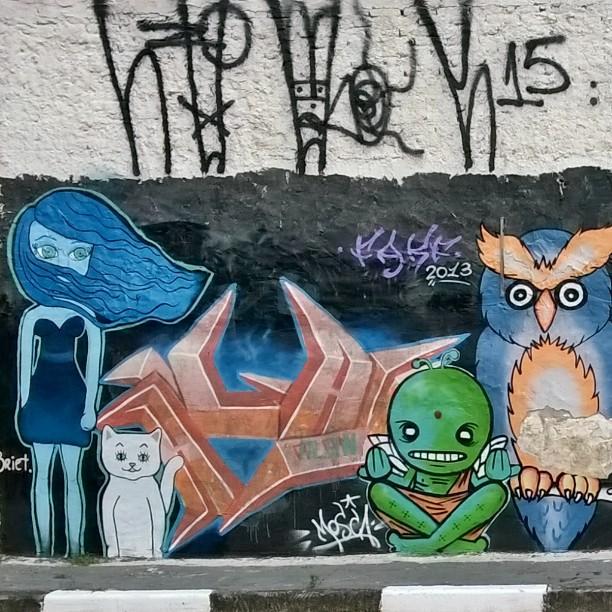#sampagraffiti #brasilgraffiti #artederua #ig_graffiti #rsa_graffiti #streetartsp #streetcandy #dsb_graff #streetart #graffitisp #streetshots #urbanart #graffitiporn #graff #graffiti #tv_streetart_ #ingf #grafflife #spgraffiti #muralismo #streetart_illuminati #vimural #all_wallshots #hellagraffiti #nexus_streetart #urban_graffiti #graffitigers #sprayed #jacarei #brasil