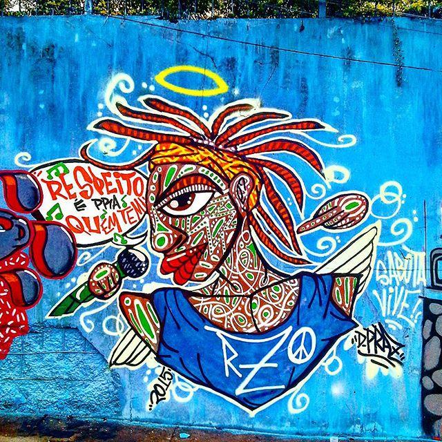 """Intervenção Urbana feita no evento """" Graffiti x Lixo"""", em Jd. Da Saúde, São Paulo-SP. Por D. Praz. 2015 Valeu CCCU pelo convite!!! #danyahupraz #dpraz #arteurbana #intervençãourbana #artederua #cores #sprayarte #colorginarteurbana #artesvisuais #sabotavive #Sabotage #respeitoépraquemtem #familiarzo #urbanart #streetart #colors #sprayart #visualarts #instastreetart #streetartbrazil #streetartsp #artebanabrasil #arteurbanasaopaulo #CCCU #artenasruas"""