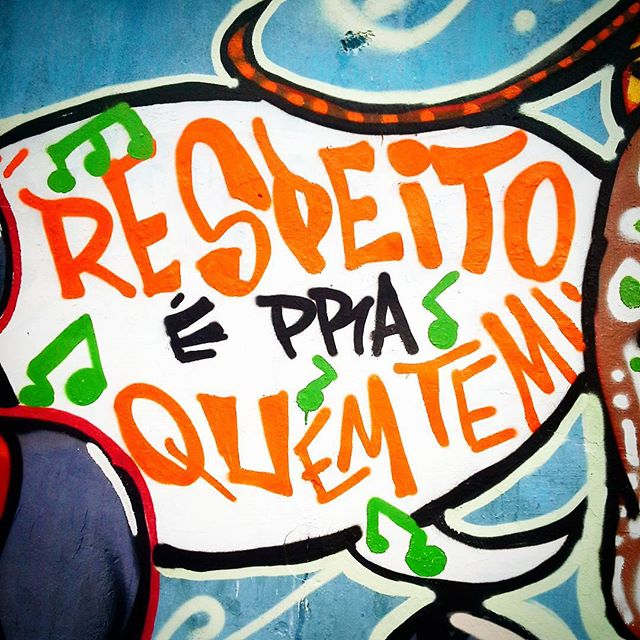 """""""Respeito É Pra Quem Tem!!!"""" Detalhe da Intervenção Urbana feita no evento """"Graffiti X Lixo"""" em Jardim da Saúde, São Paulo-SP. Por D.Praz. Valeuuu CCCU pelo convite!!! #danyahupraz #dpraz #arteurbana #artederua #intervençãourbana #cores #sprayarte #colorginarteurbana #artesvisuais #respeitoépraquemtem #urbanart #streetart #colors #sprayart #visualarts #Sabotage #sabotavive #streetartbrazil #streetartsp #instastreetart"""