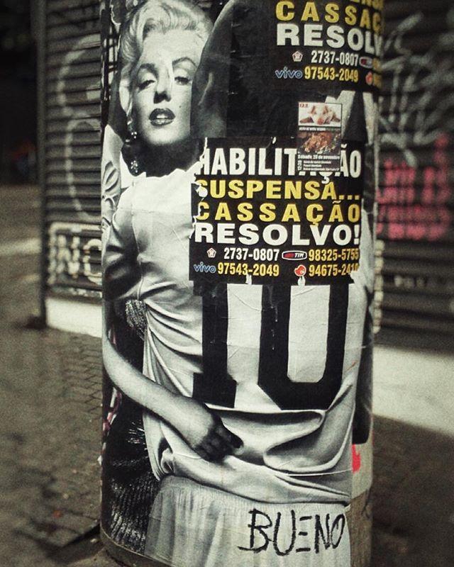 #buenocaos na #Augusta  #marilynmonroe #pele #abraço #embrace #lambelambe #wheatpaste #streetart #streetartsp #urbanart #artederua #arteurbana #Paulista #sp011