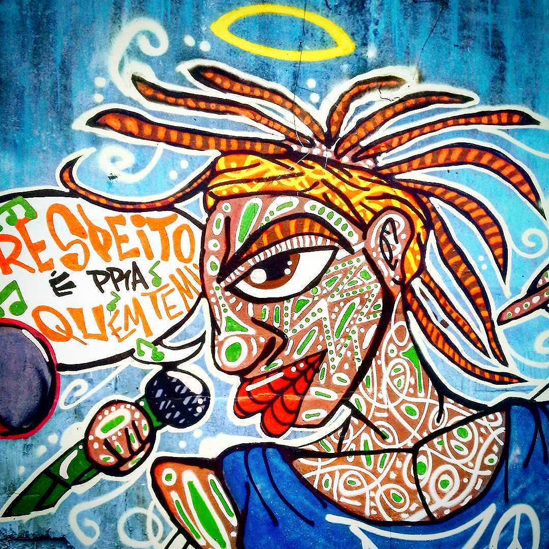 """Detalhe da  Intervenção  Urbana feita no Evento """"Graffiti x Lixo"""", na Favela do  Boqueirão, Jardim da  Saúde,  São  Paulo-SP. Valeu  CCCU pelo  convite!!! #danyahupraz #dpraz #arteurbana #artederua #intervençãourbana  #cores  #sprayarte #colorginarteurbana #artesvisuais #Sabotage #respeitoépraquemtem #urbanart #colors  #streetart #sprayart #visualarts #streetartbrazil #streetpainting #streetartsp #instastreetart"""