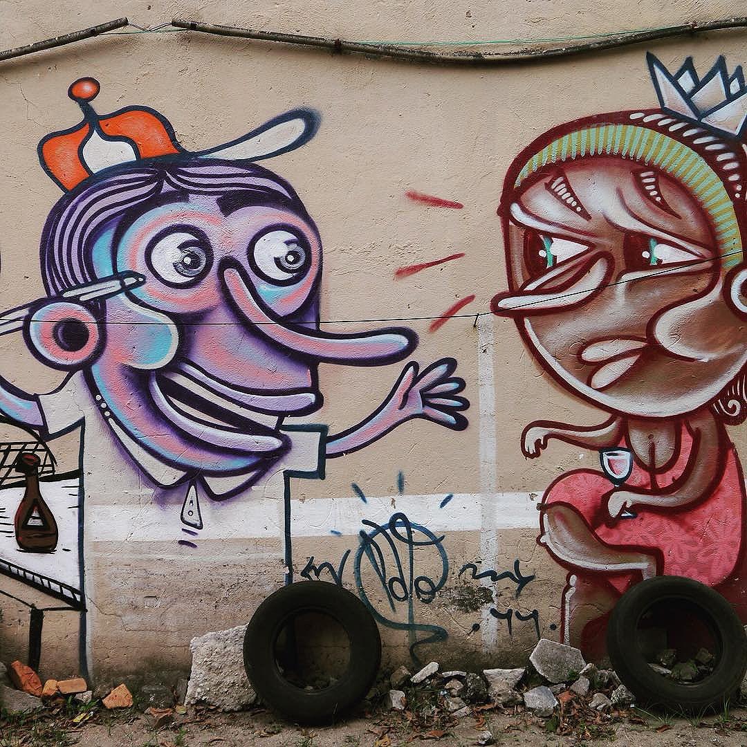 Funny wall art by Pato in São Paulo #pato #patologico  #sambadograffiti #sampagraffiti #graffiti #graffiti_clicks #grafite #graf #streetart #streetartsp #streetphoto #streetarteverywhere #streetartphotography #spray #SPBGRAFITE #spraypaint #urbanwall #urbanart #wallart #saopaulo #brasil #rsa_graffiti #DSB_graff #braznu #sampa #tv_streetart #saopaulocity #tv_sa_simplicity_graff #streetartofficial