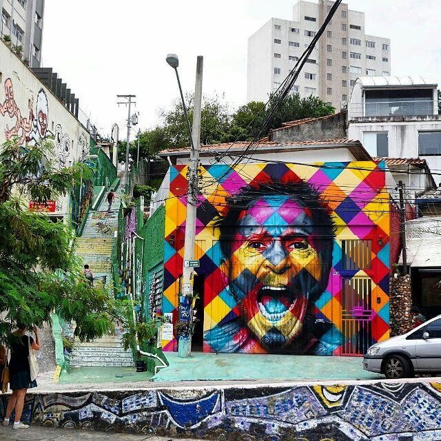 Новое от @kobrastreetart в Сан-Паулу. Address: R. Medeiros de Albuquerque, 270  - Jardim das Bandeiras, São Paulo - SP, 05436-060, Brasil. #kobra #eduardokobra #graffitisp #graffitisaopaulo #streetartsp #streetartbrazil #streetartbrasil #streetartbr #brazilstreetart #graffitibrasil #brasilgraffiti #brazilgraffiti #igersbrazil #ig_brazil #graffitibrazil #граффити_tschelovek #streetart #urbanart #graffiti #mural #стритарт #граффити #wallart #artederua #arteurbana #streetart_daily #streetarteverywhere