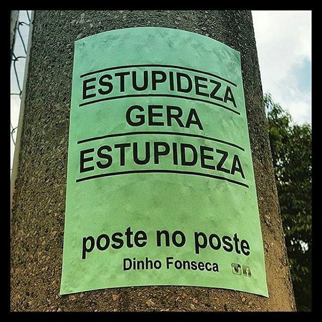 @Regrann from @oquearuafala - @postenoposte #oquearuafala #paredesurbanas #lambelambe #grafite #urbanwalls #streetart #streetartsp #poesiaurbana #artederua #intervencaourbana #splovers #sp #lambelambe #grafite #pixo #murosquefalam #osmurosfalam #oqueasruasfalam #acidadefala #oquearuafala #arteurbana #vinarua #asruasfalam #taescritoemsampa #urbanart #urbanwalls #wallporn #art #instagraffiti #instagood #graffitiporn #streetarteverywhere #arte #fotografiaderua