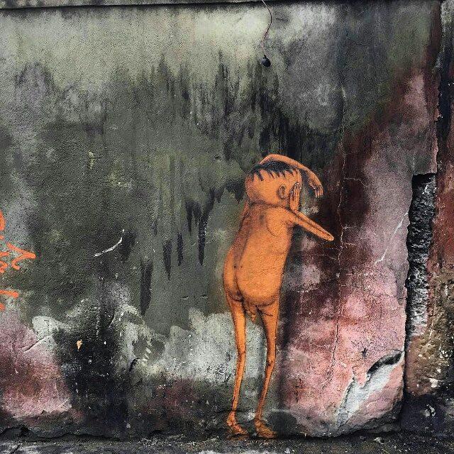 "@osgemeos нарисовали ""Another Brick In The Wall"" в Сан-Паулу. #osgemeos #graffitisp #graffitisaopaulo #streetartsp #streetartbr #graffitibrasil #igersbrazil #ig_brazil #graffitibrazil #граффити_tschelovek #streetart #urbanart #graffiti #mural #стритарт #граффити #wallart #graffitiart #artederua #grafite #arteurbana #graffiticulture #graffitiwall #streetart_daily #streetarteverywhere"