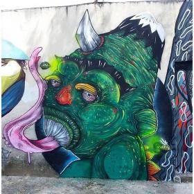 Compartilhado por: @tschelovek_graffiti em Feb 10, 2016 @ 09:30